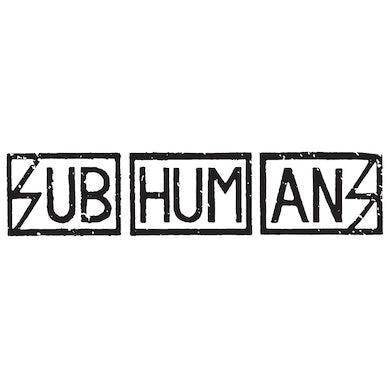 Subhumans - Text Logo - Vinyl Sticker