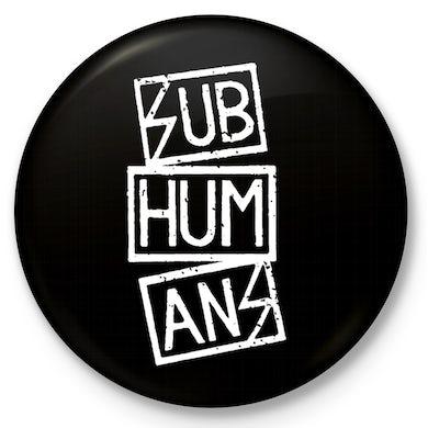 """Subhumans - Logo - 1"""" Button"""