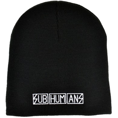 Subhumans - Logo - Embroidered Beanie