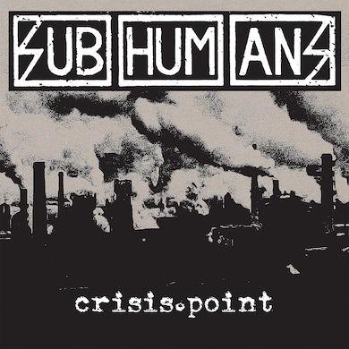 """Subhumans - Crisis Point 12"""" LP / CD / Cassette (Vinyl)"""