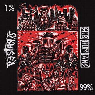 "Subhumans/The Restarts split 7"" (Vinyl)"