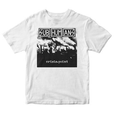 Subhumans - Album Cover - White - T-shirt