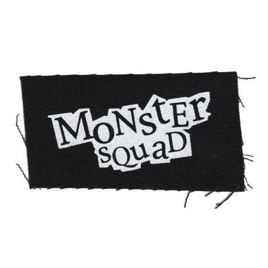 "Monster Squad - Logo - Black - Patch - Cloth - Screenprinted - 4"" x 2"""