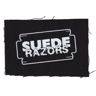 "Logo - Black - Patch - Cloth - Screenprinted - 4"" x 4"""