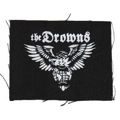 "The Drowns - Eagle - Black - Patch - Cloth - Screenprinted - 4"" x 4"""