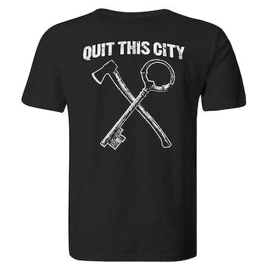 Quit This City - Black - T-Shirt