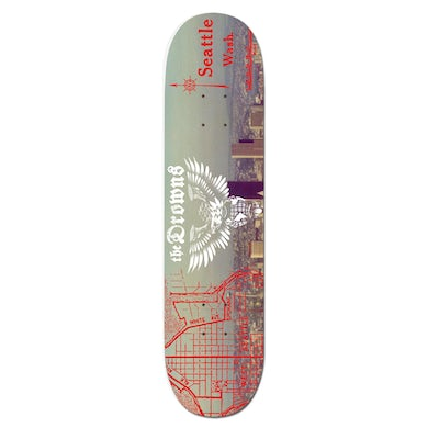 The Drowns - The Sound - Skateboard Deck