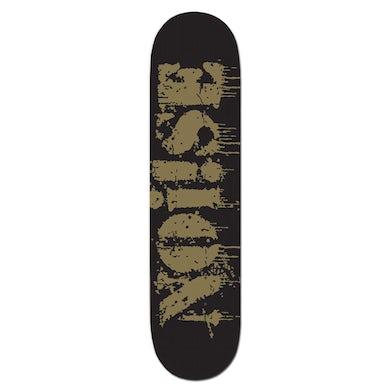 NOi!SE - Text Logo - Skateboard Deck
