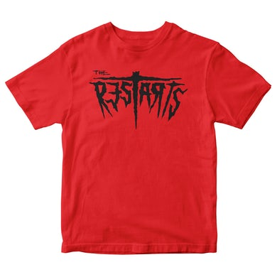 The Restarts - Logo - Red - T-shirt
