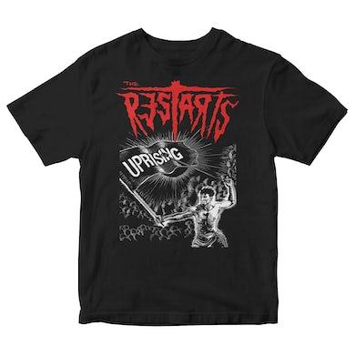 The Restarts - Album Cover - Black - T-shirt