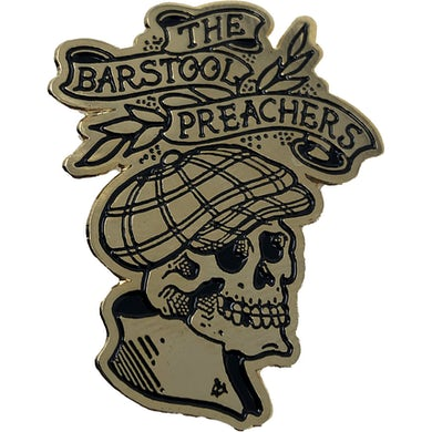 "The The Barstool Preachers - NEW Skull Logo - 1.5"" Enamel Pin"