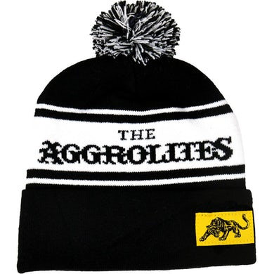 The Aggrolites - Logo & Panther - Knit Bobble Hat