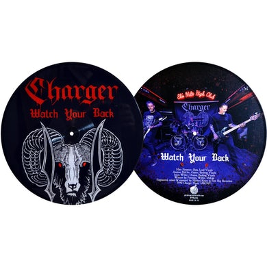 """Charger - Watch Your Back 12"""" Single"""