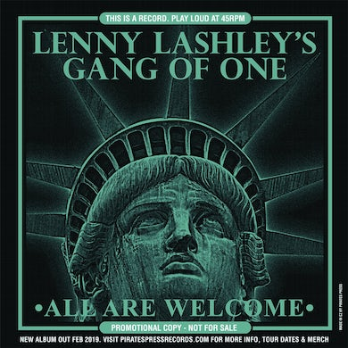 Lenny Lashley's Gang Of One - All Are Welcome Flexi