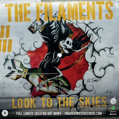 The Filaments - Look To The Skies Flexi