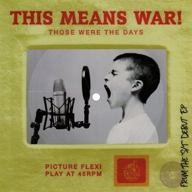 This Means War! This Means War - Those Were the Days Slide Flexi