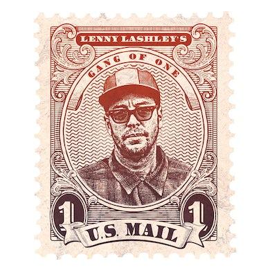 Lenny Lashley's Gang Of One - U.S. Mail Jumbo Flexi Postcard