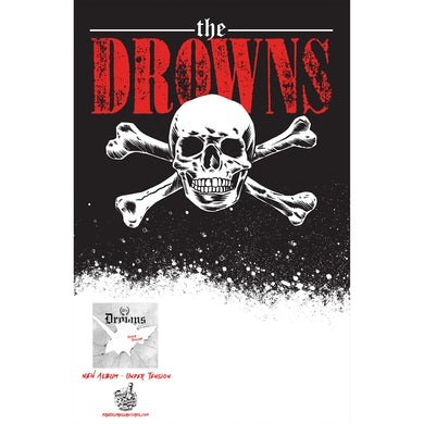 The Drowns - Under Tension - Tour Poster