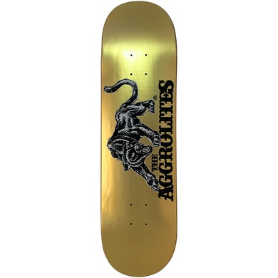 The Aggrolites - Aggropanther - Skateboard Deck - Gold
