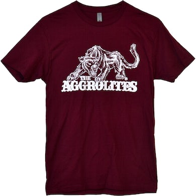 The Aggrolites - Aggropanther - Maroon - T-Shirt