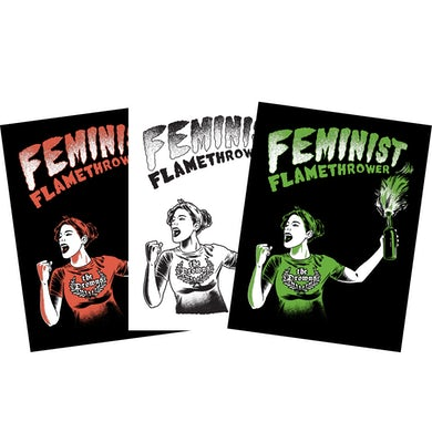 The Drowns - Feminist Flamethrower Sticker Pack