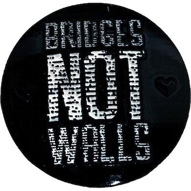 "Lenny Lashley's Gang of One - Bridges Not Walls - 1.25"" Enamel Pin"