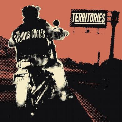 """Territories / Vicious Cycles split 7"""" - White (Vinyl)"""