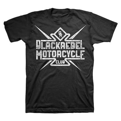 Black Rebel Motorcycle Club B.R.M.C.®  DISTRESSED TEE