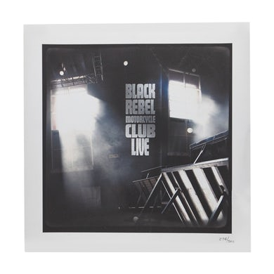 Black Rebel Motorcycle Club BRMC LIVE LITHO