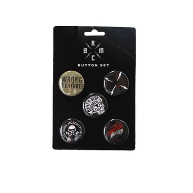 Black Rebel Motorcycle Club WRONG CREATURES 5-BUTTON PACK