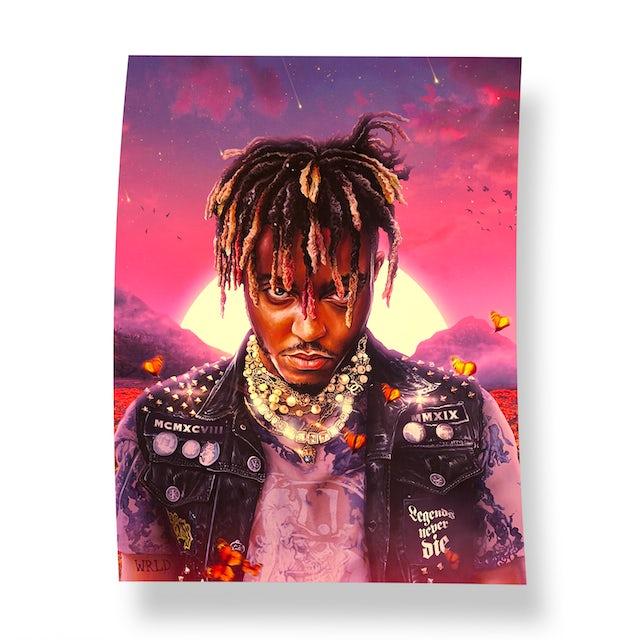 Juice Wrld Legends Never Die Album Poster Digital Album
