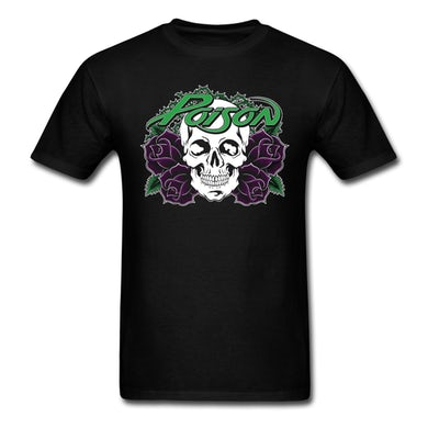 Poison  Purple Rose T-Shirt