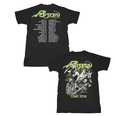 Poison  Tour 2018 T-Shirt