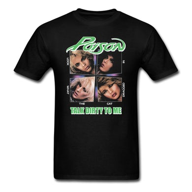 Poison  Talk Dirty To Me T-Shirt