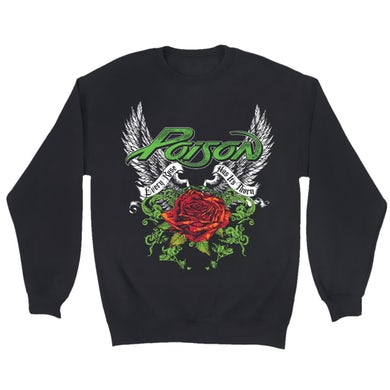 Poison  Wings and Thorns Crewneck