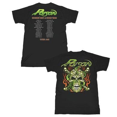Poison  Skull & Snake T-Shirt