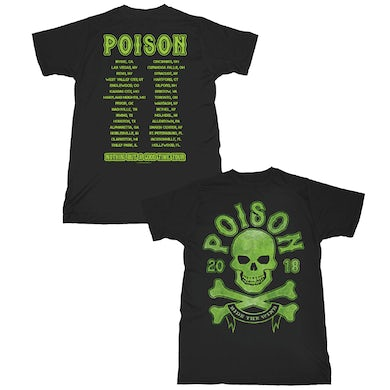 Poison  Skull Ride T-Shirt