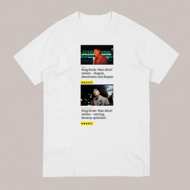 King Krule INTERPRETER WHITE T-SHIRT