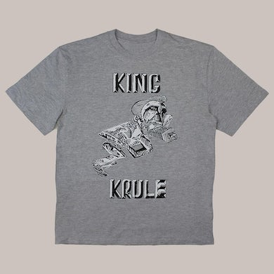 NEW CLASSIC KING KRULE GREY T-SHIRT
