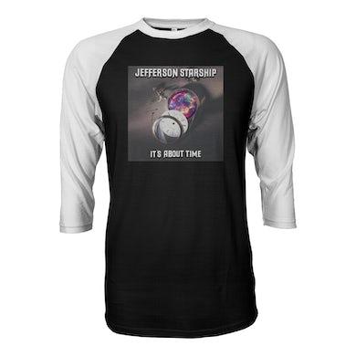 """Jefferson Starship """"It's About Time"""" Baseball Shirt"""