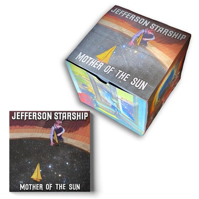 Jefferson Starship Mother of the Sun Space Box w/CD