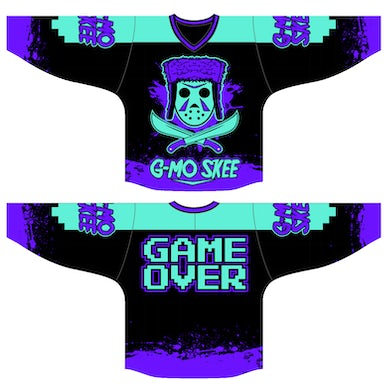 """G-Mo Skee """"Game Over"""" Hockey Jersey"""