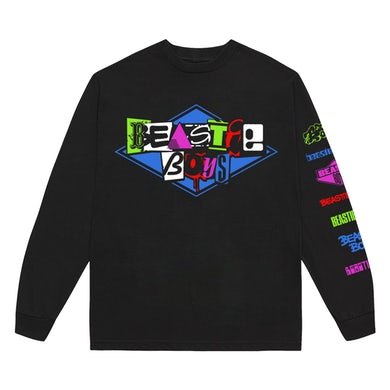 Beastie Boys Multi-Logo Long Sleeve Shirt