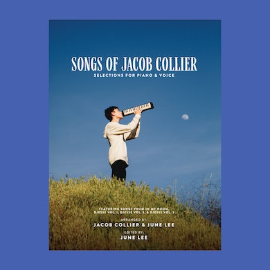"""""""Songs of Jacob Collier"""" Selections for Piano & Voice - Deluxe Package Songbook"""