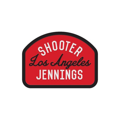 Shooter Jennings Los Angeles Patch