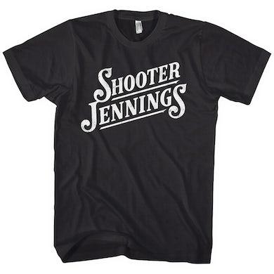 Shooter Jennings Script Logo Tee