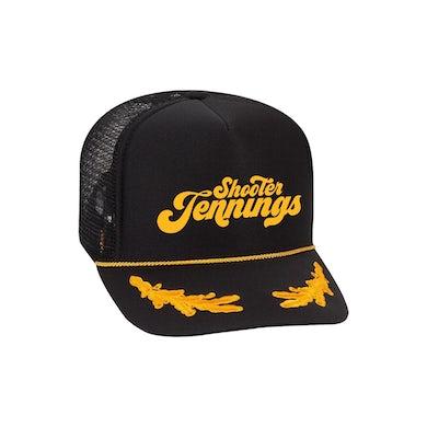 Shooter Jennings Script Logo Hat