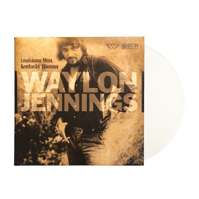 "Waylon Jennings - LA Man, KY Woman 7"" (Vinyl)"
