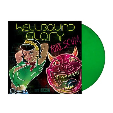 Hellbound Glory - Pure Scum LP + CD