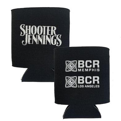 Shooter Jennings BCR Koozie - Black